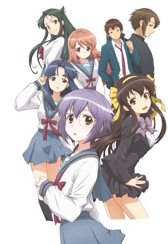 New the Disappearance of Nagato Yuki-Chan Visual Revealed haruhichan.com The Vanishing of Nagato Yuki-Chan visual
