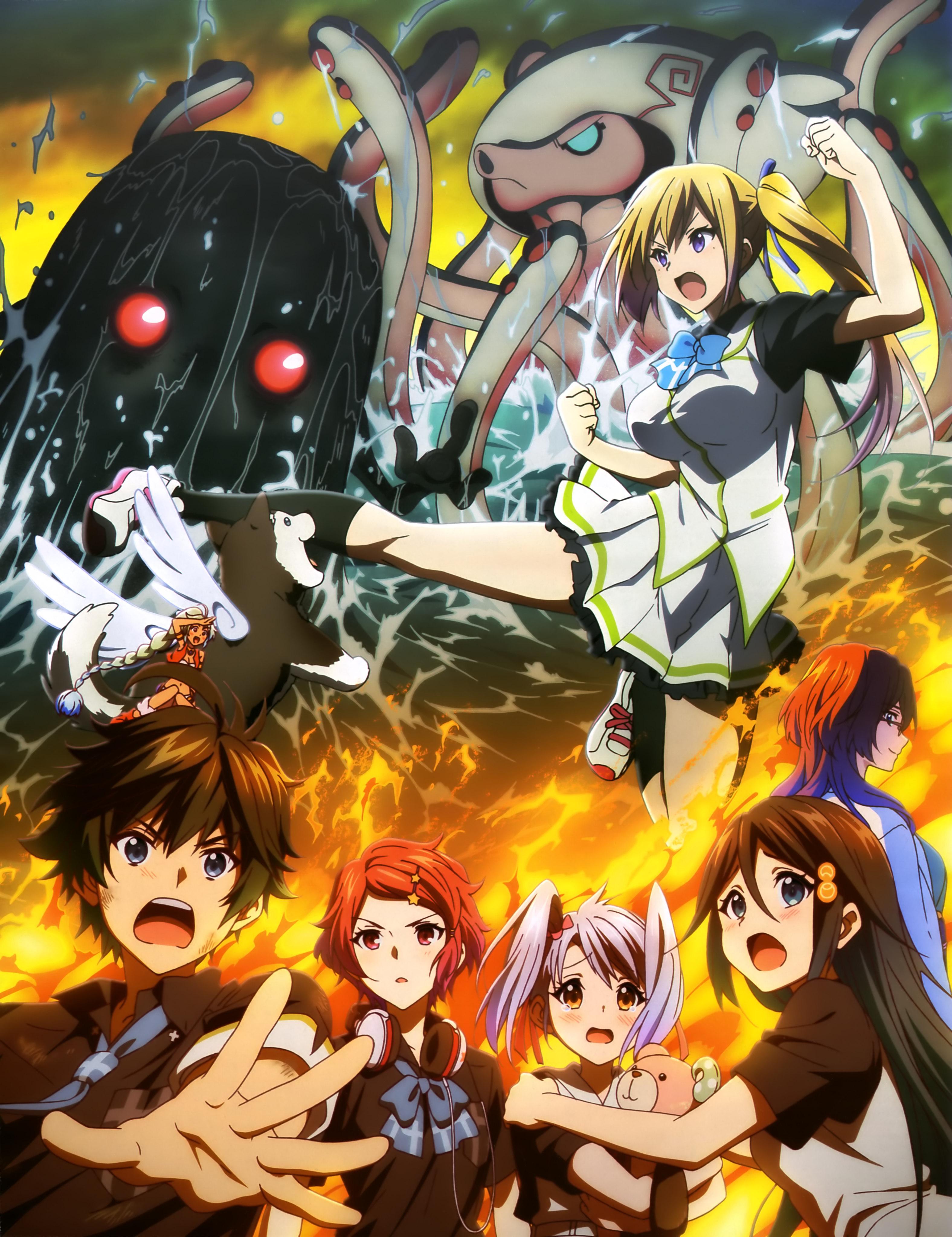 NewType-Magazine-April-2016-anime-poster-Musaigen no Phantom World