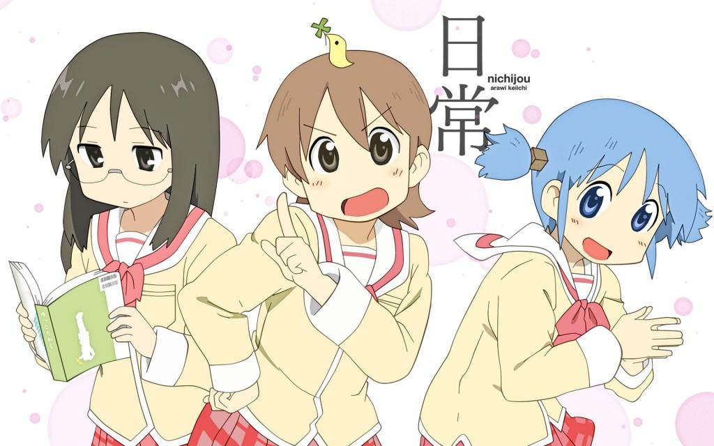 Nichijou anime announcement visual