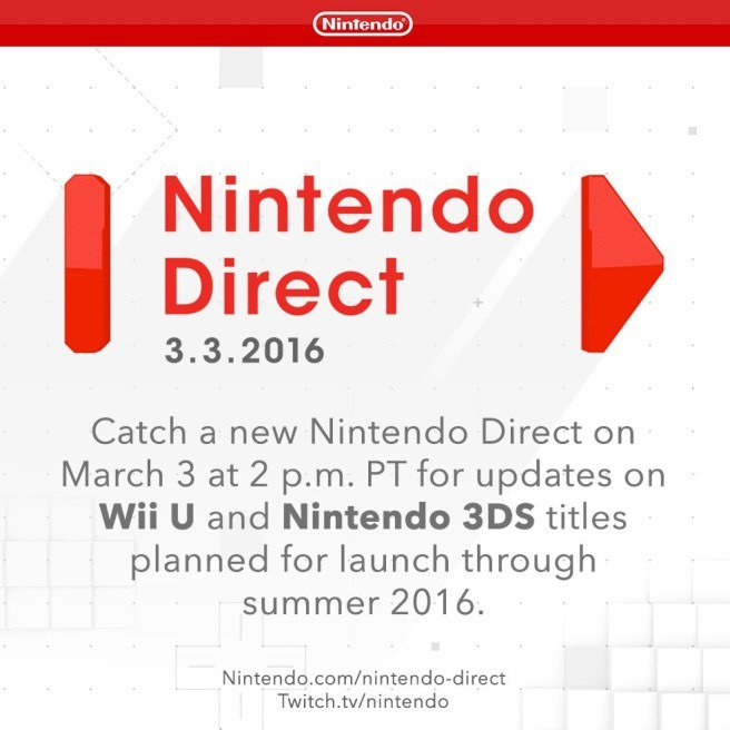 Nintendo Direct Summer 2016