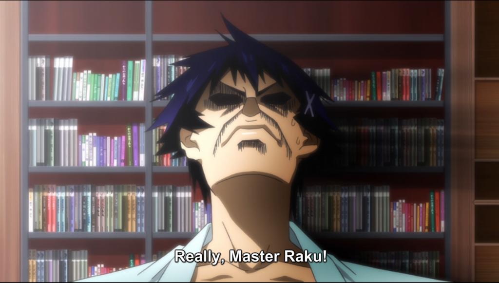 Nisekoi Season 2 Raku and Master Raku
