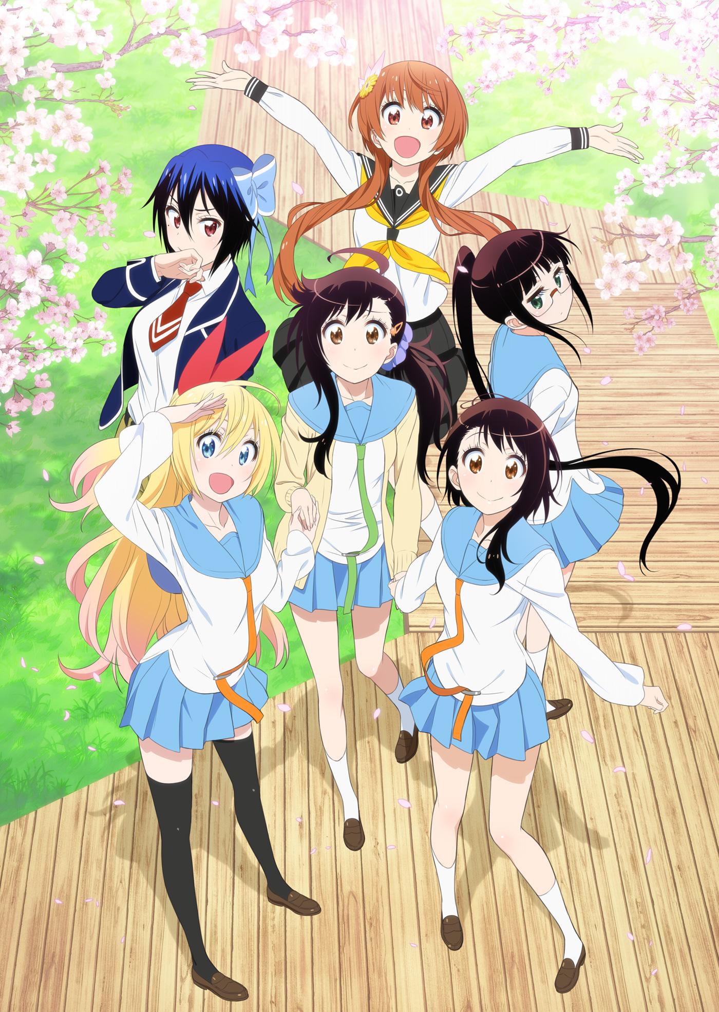 Nisekoi Season 2 Visual Revealed nisekoi 2nd season anime visual