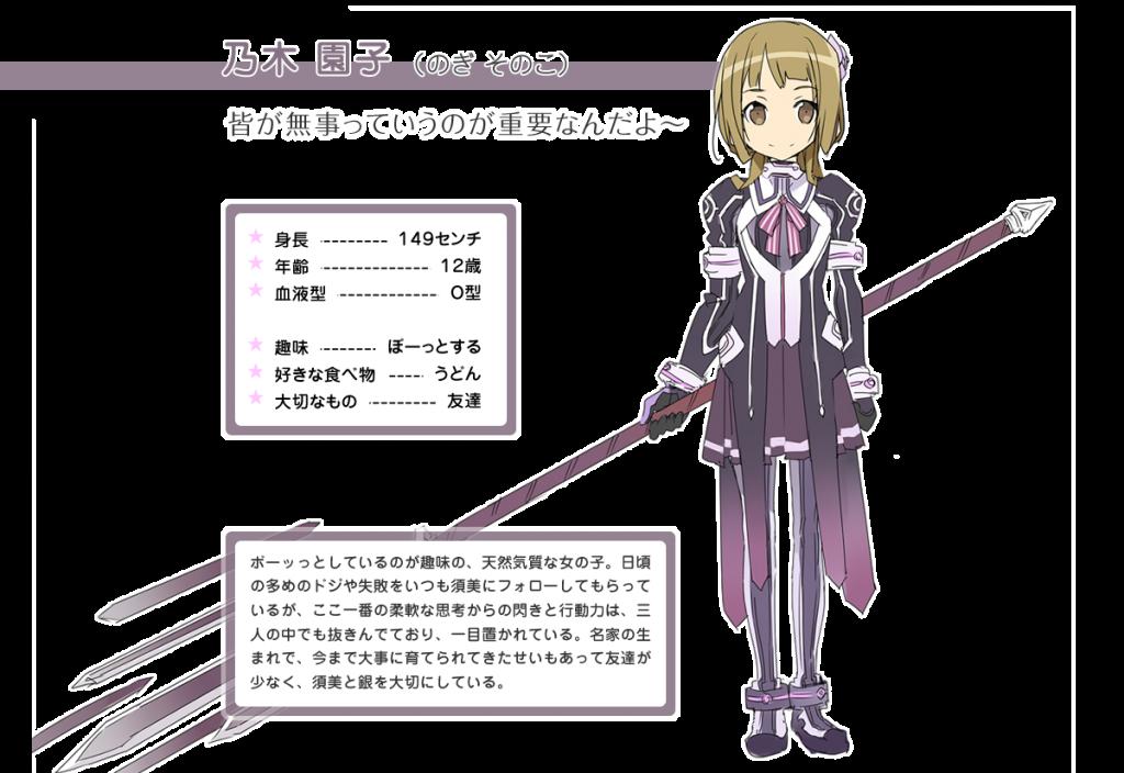 Nogi Sonoko Yuuki Yuuna Wa Yuusha De Aru anime character designs