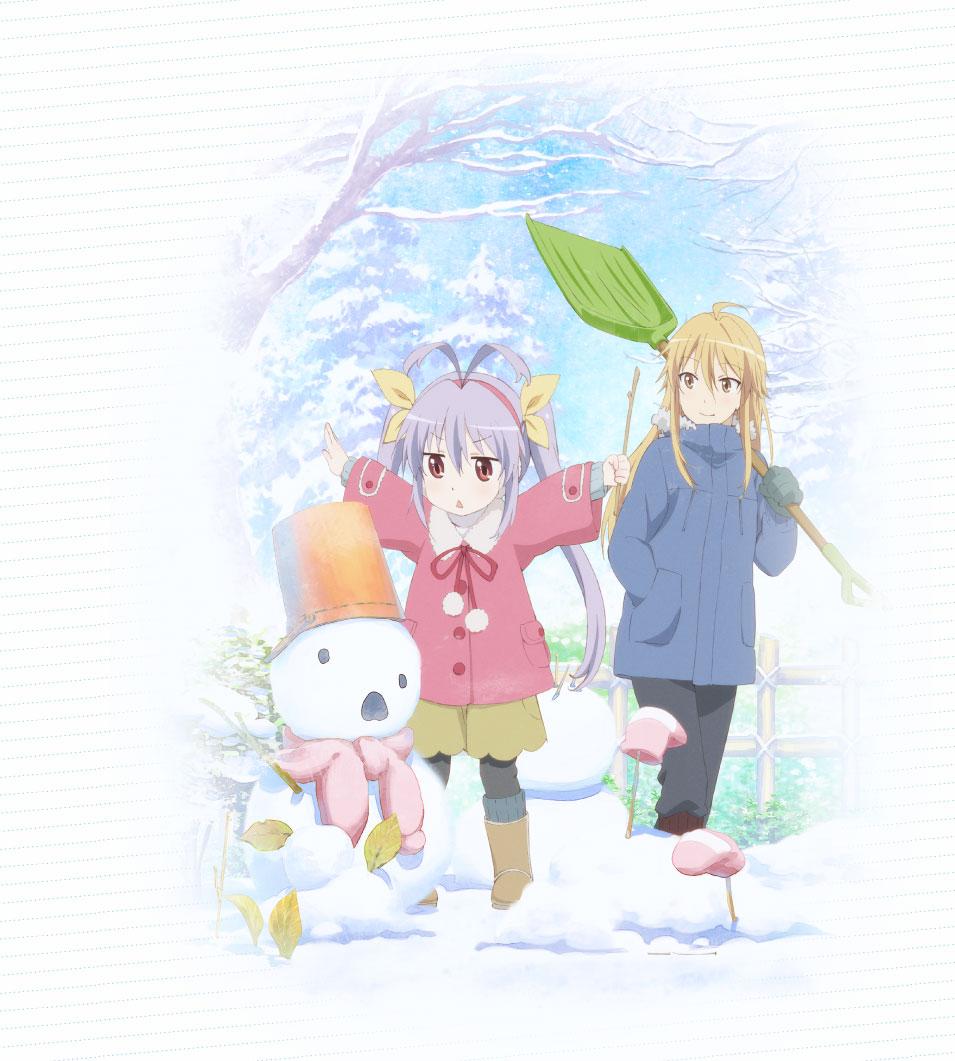 Non-Non-Biyori-2nd-season-visual-Haruhichan.com-Non Non Biyori Repeat visual winter visual