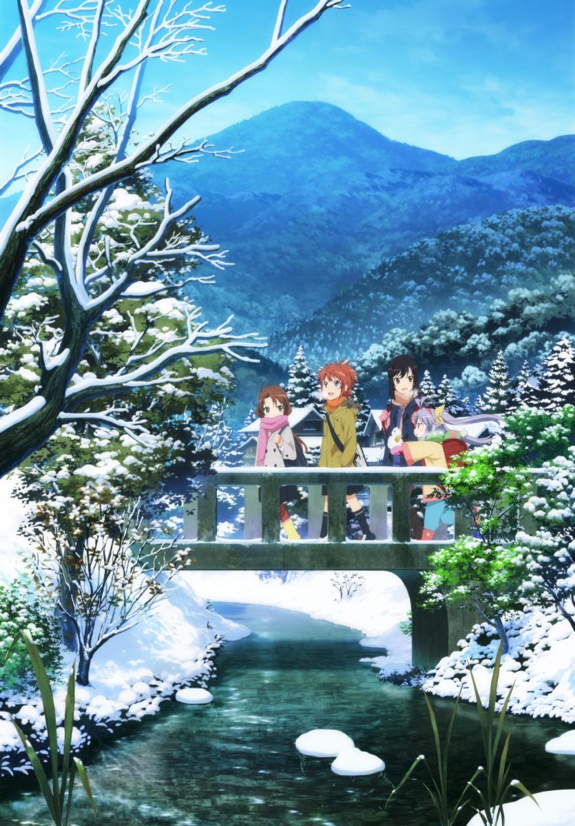Non-Non-Biyori-2nd-season-visual-Haruhichan.com-Non Non Biyori Repeat visual