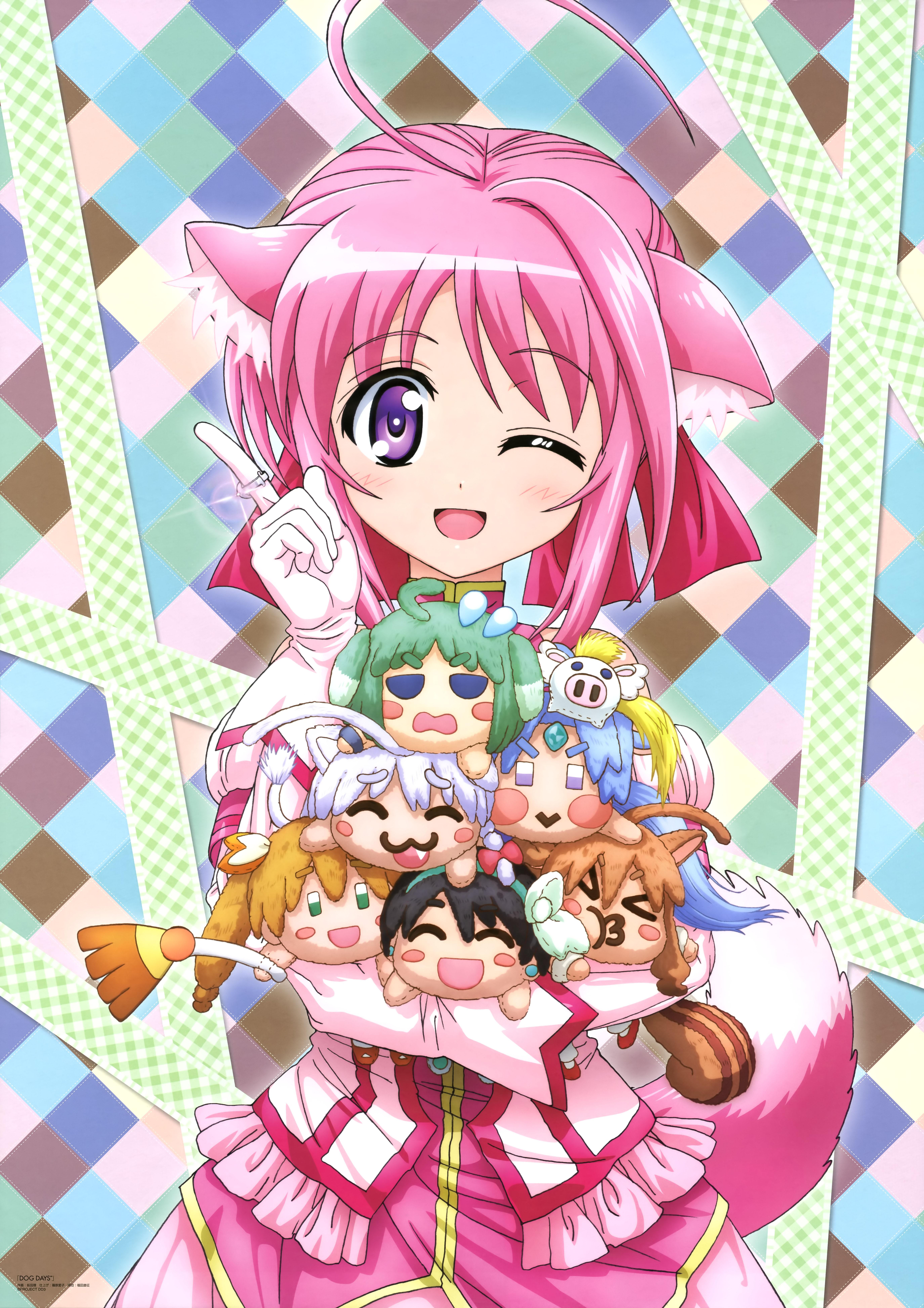 NyanType Magazine April 2015 anime posters Haruhichan.com Dog Days