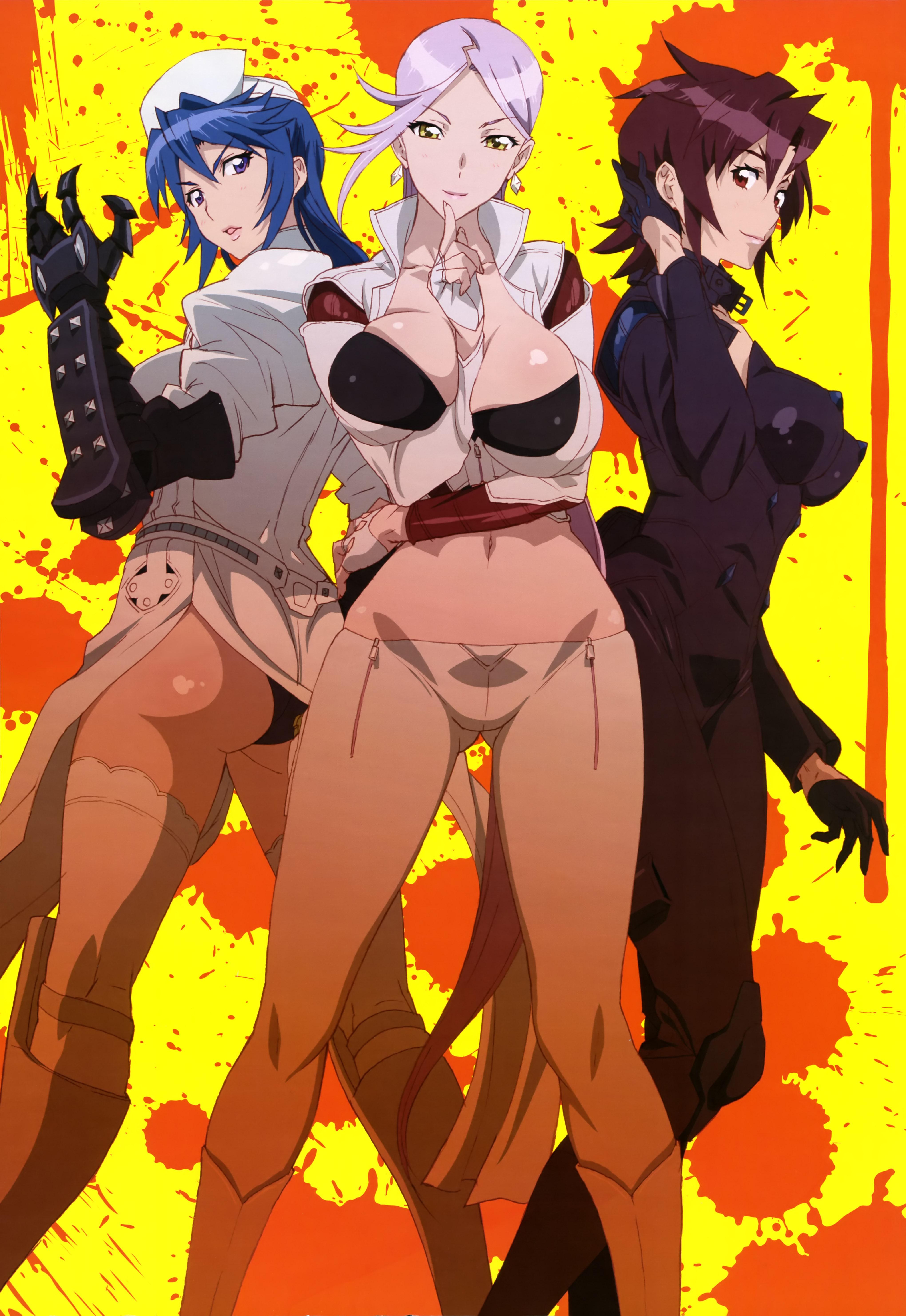 NyanType Magazine April 2015 anime posters Haruhichan.com Triage X