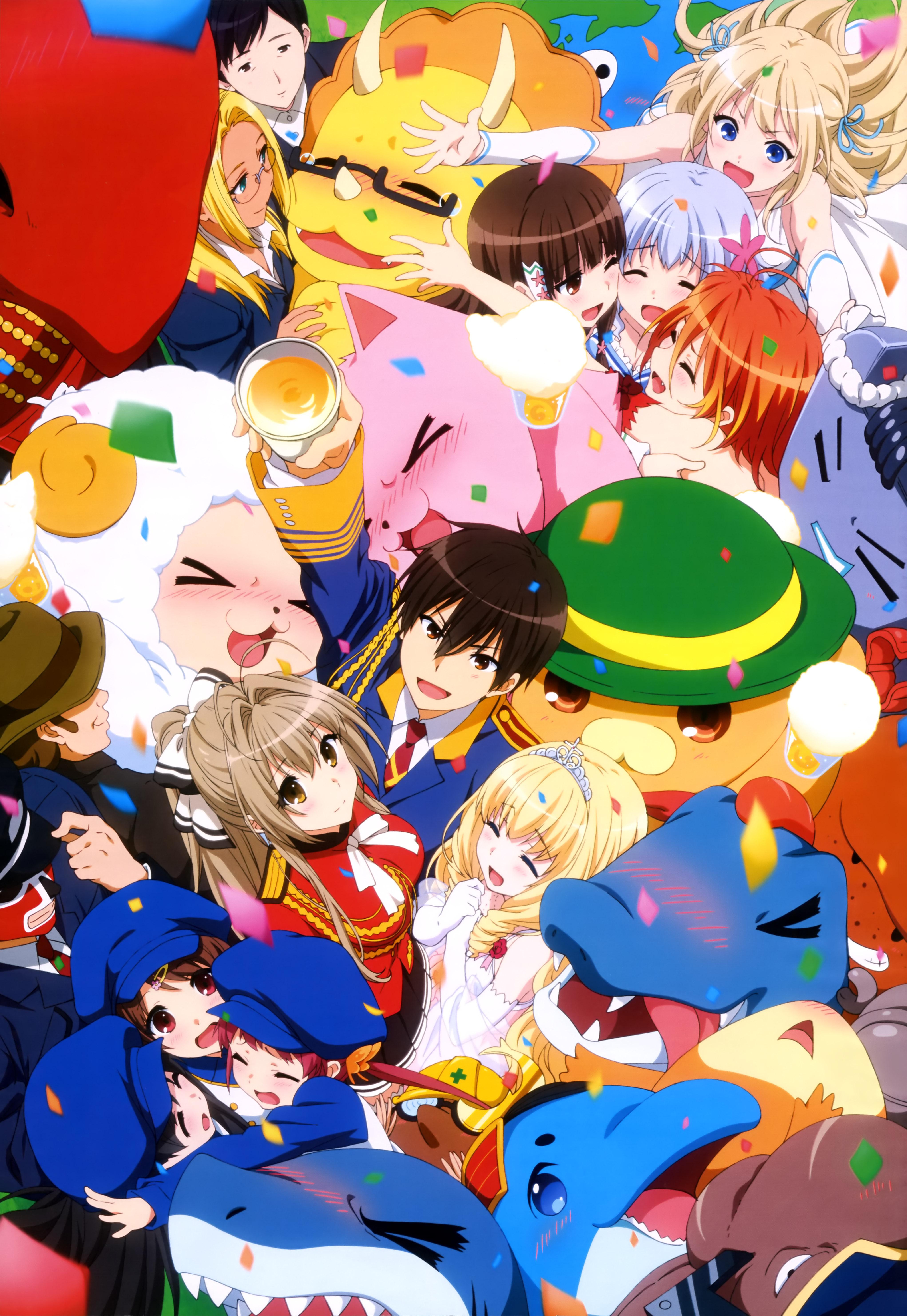 NyanType Magazine April 2015 anime posters Haruhichan.com amagi brilliant park