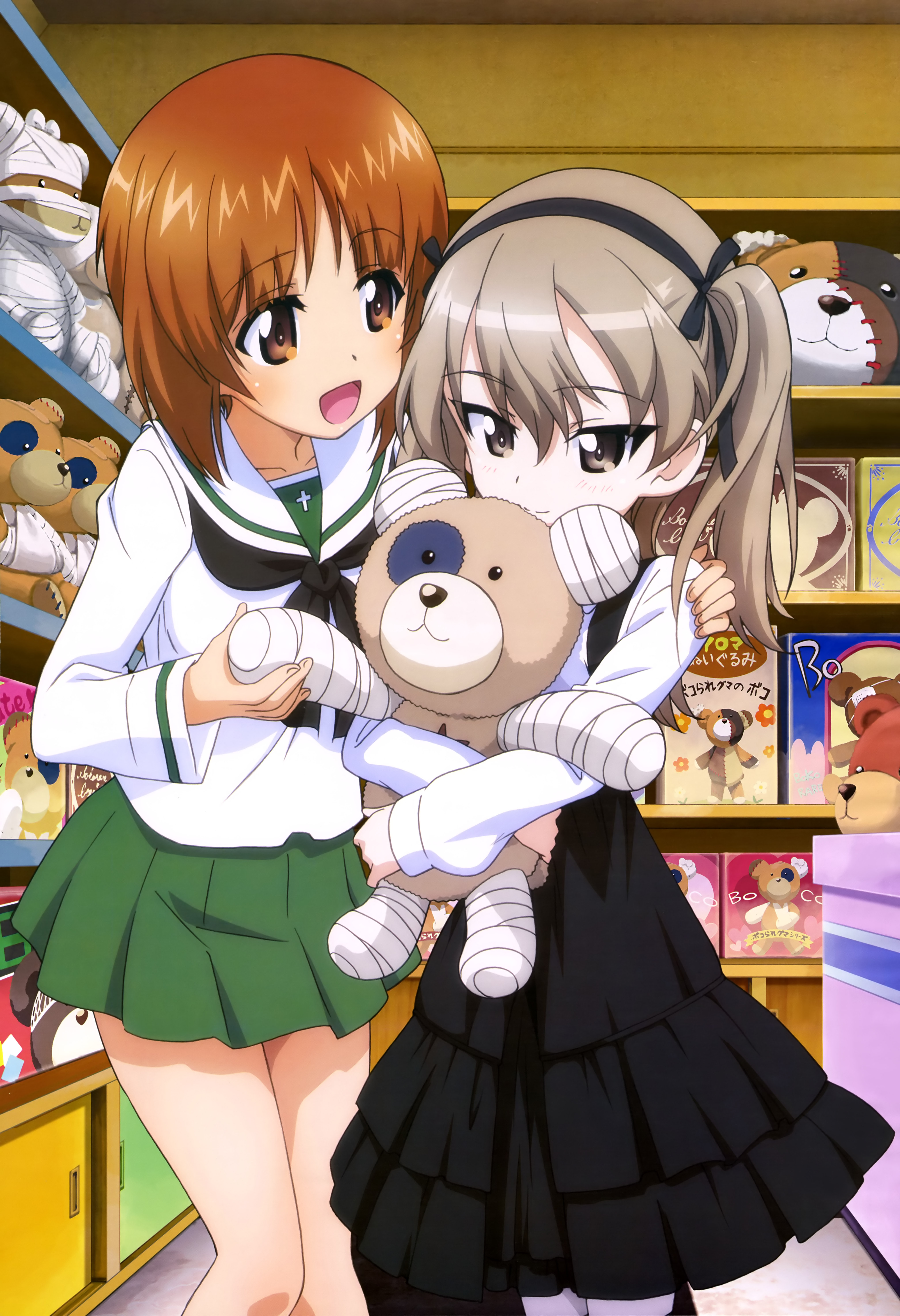 NyanType-Magazine-January-2016-anime-poster-girls und panzer