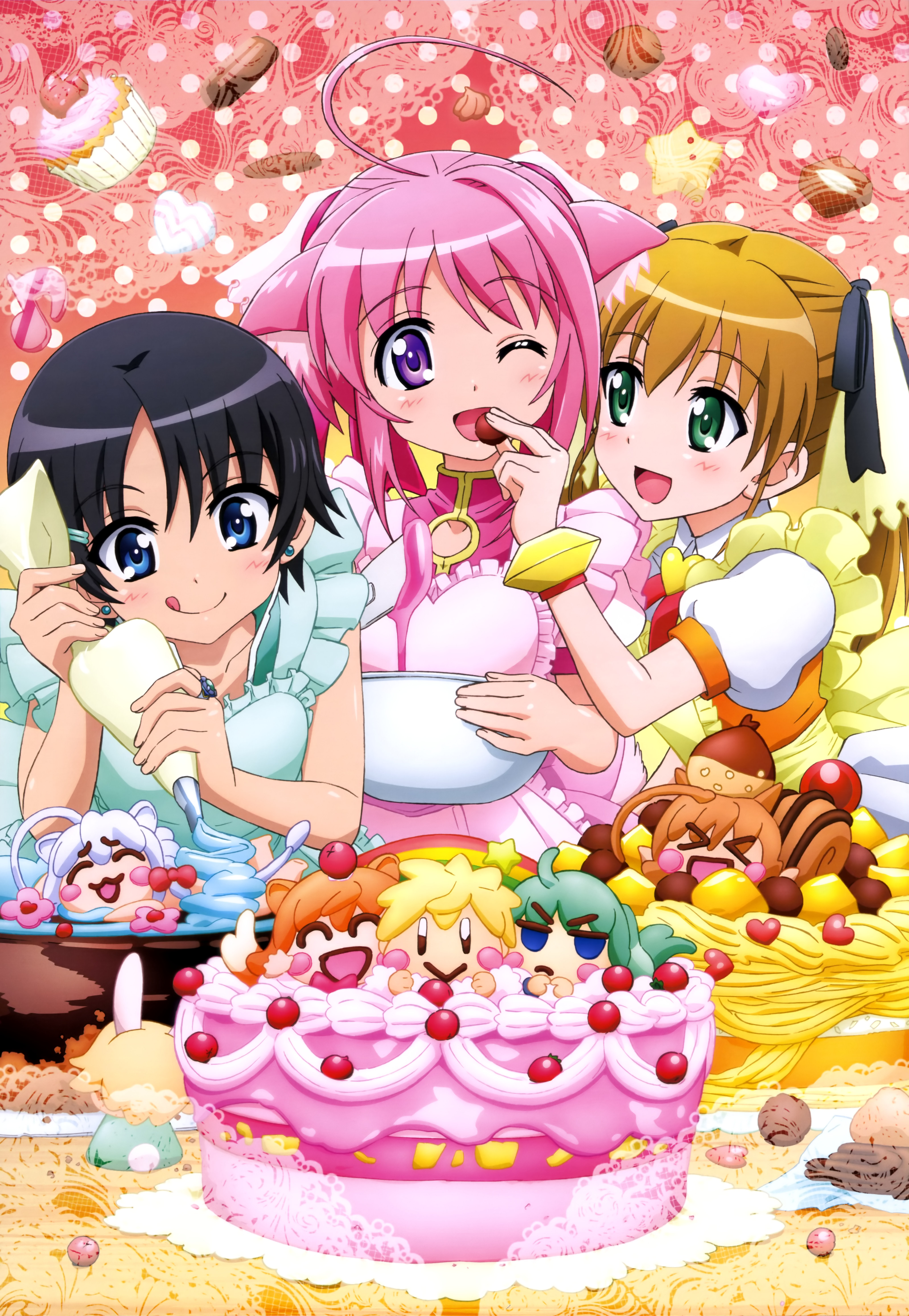 NyanType Magazine March 2015 anime posters Haruhichan.com dog days 3 poster