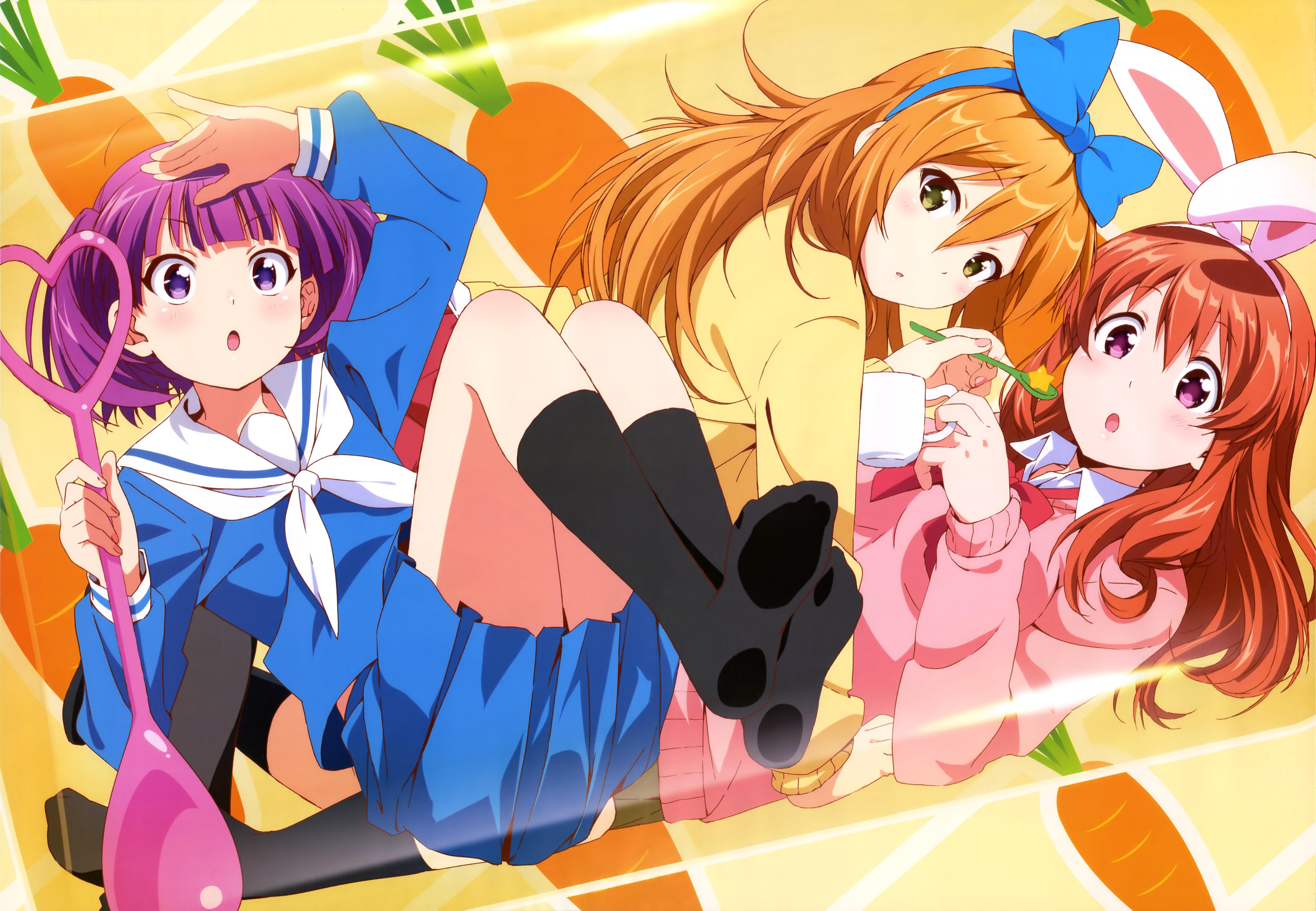 NyanType Magazine May 2015 anime posters koufuku graffiti machiko ryou morino kirin shiina poster