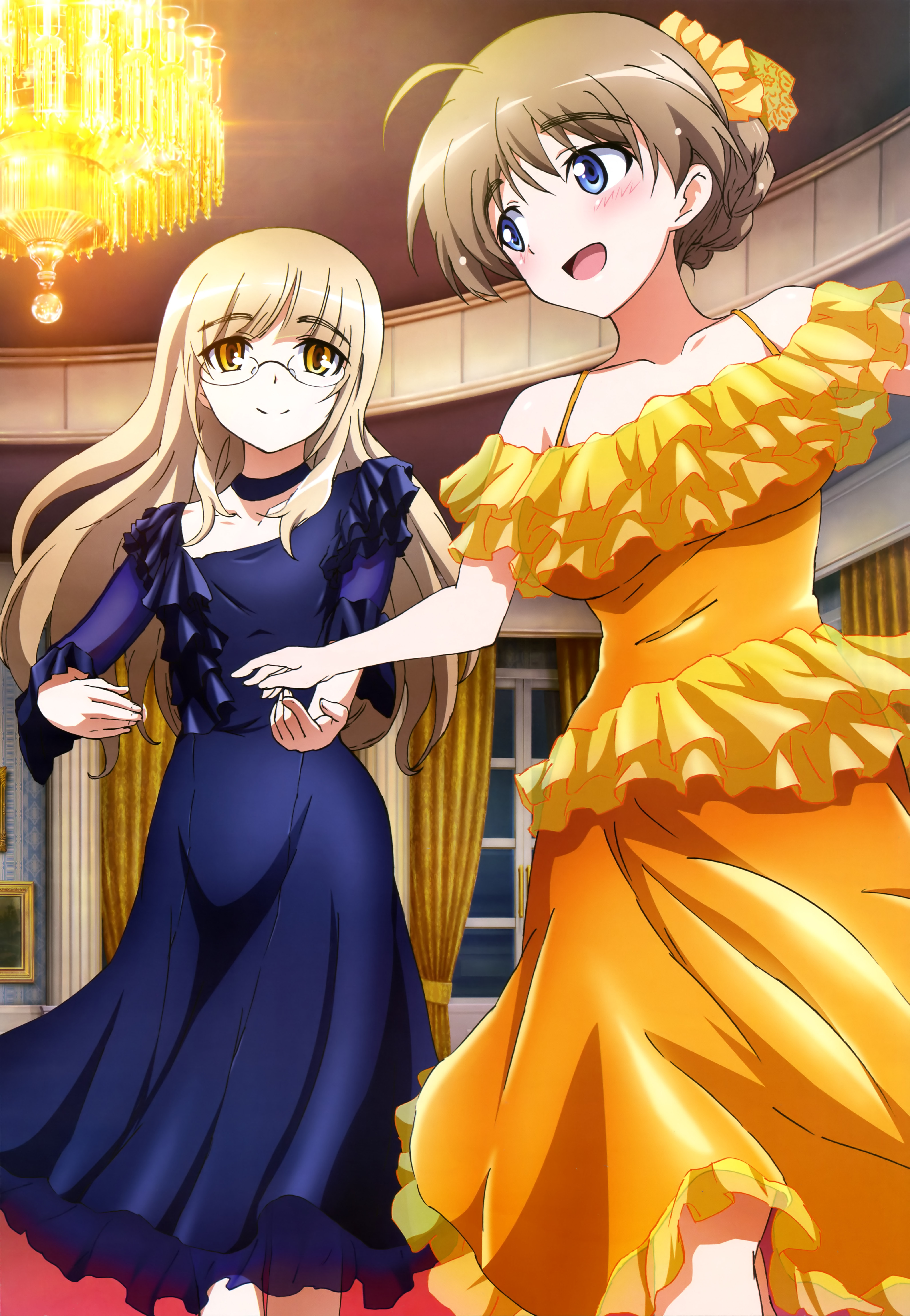 NyanType Magazine May 2015 anime posters strike witches lynette bishop perrine h clostermann poster