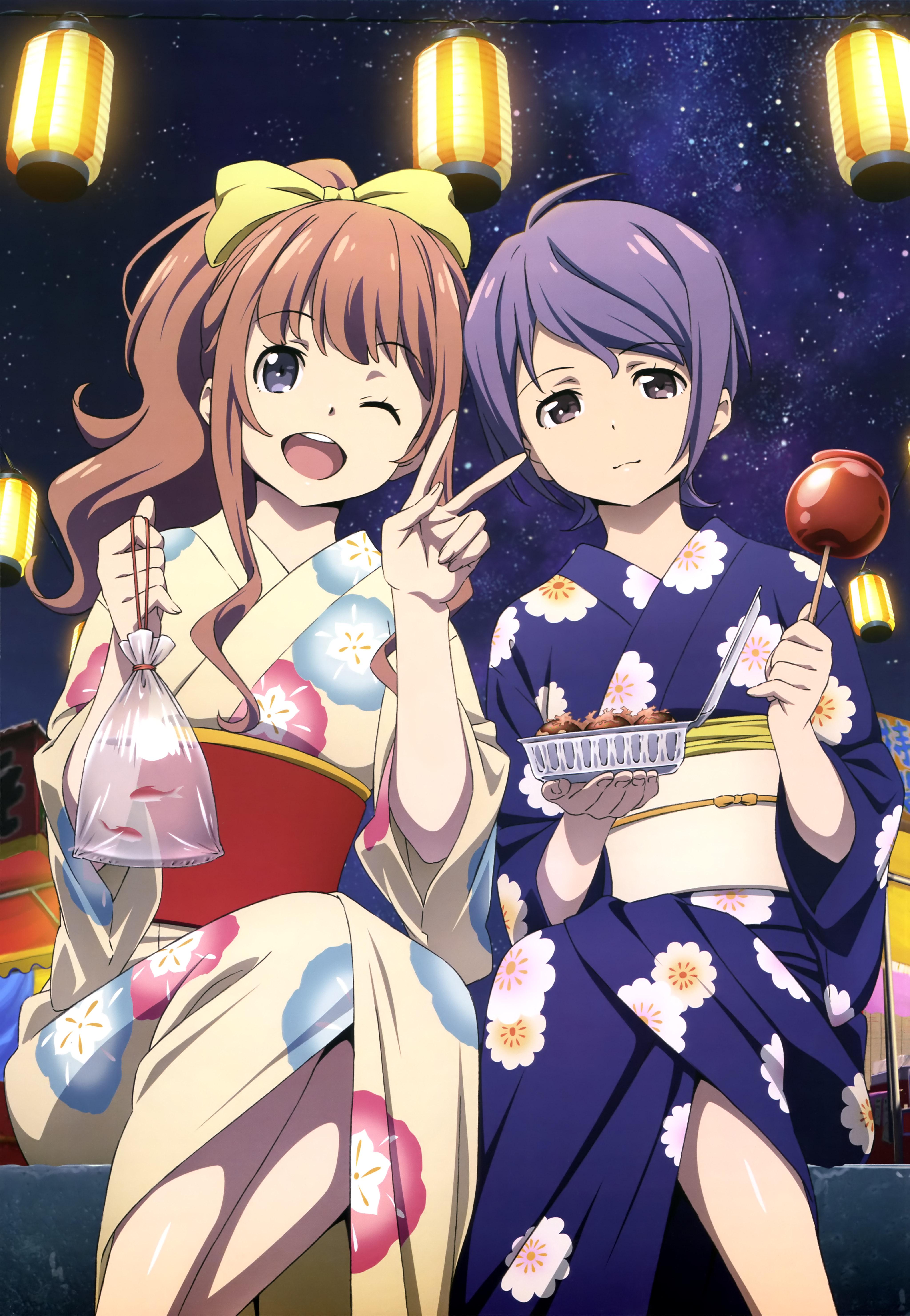 NyanType Magazine November 2015 anime posters classroom crisis
