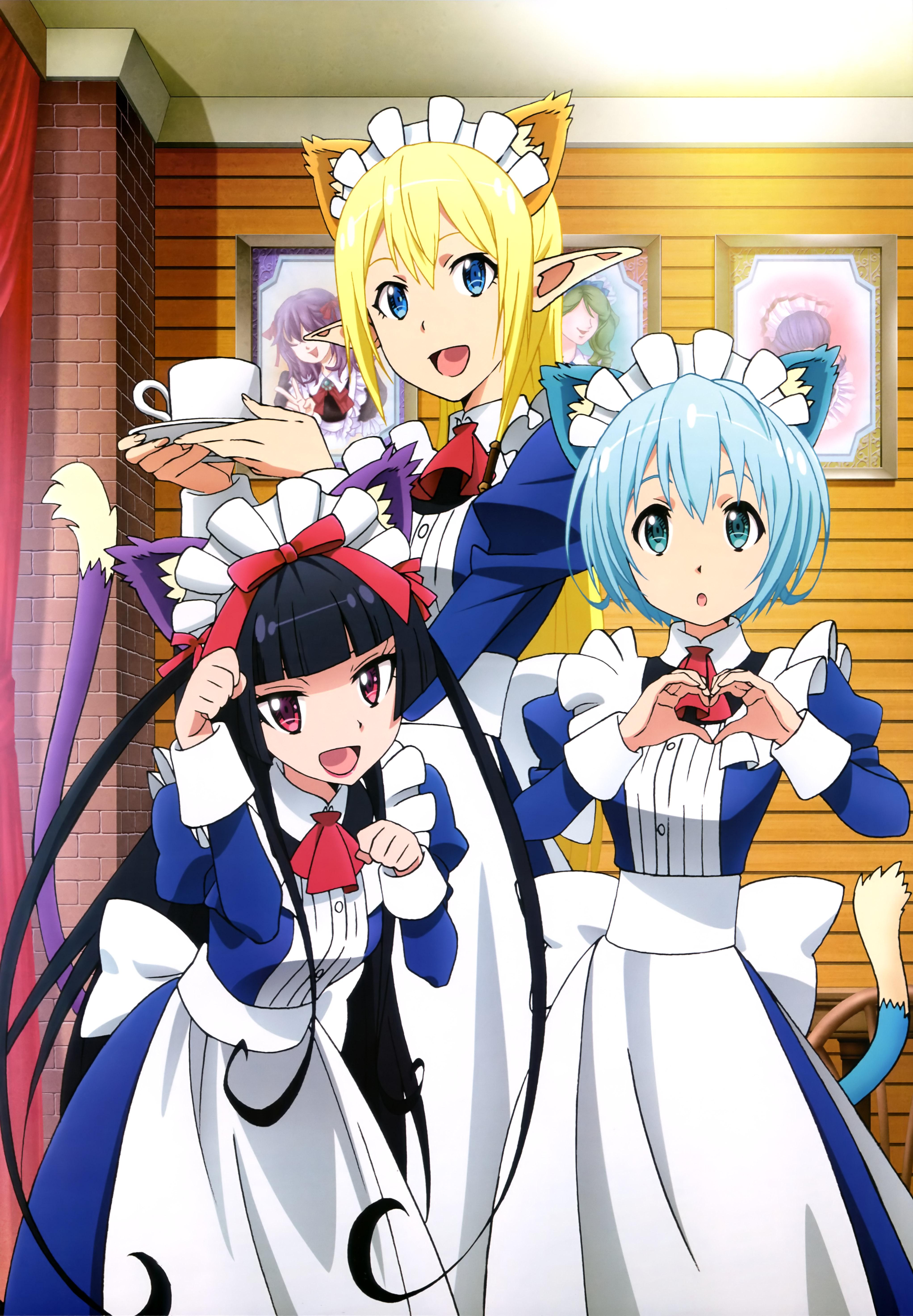 NyanType Magazine November 2015 anime posters gate
