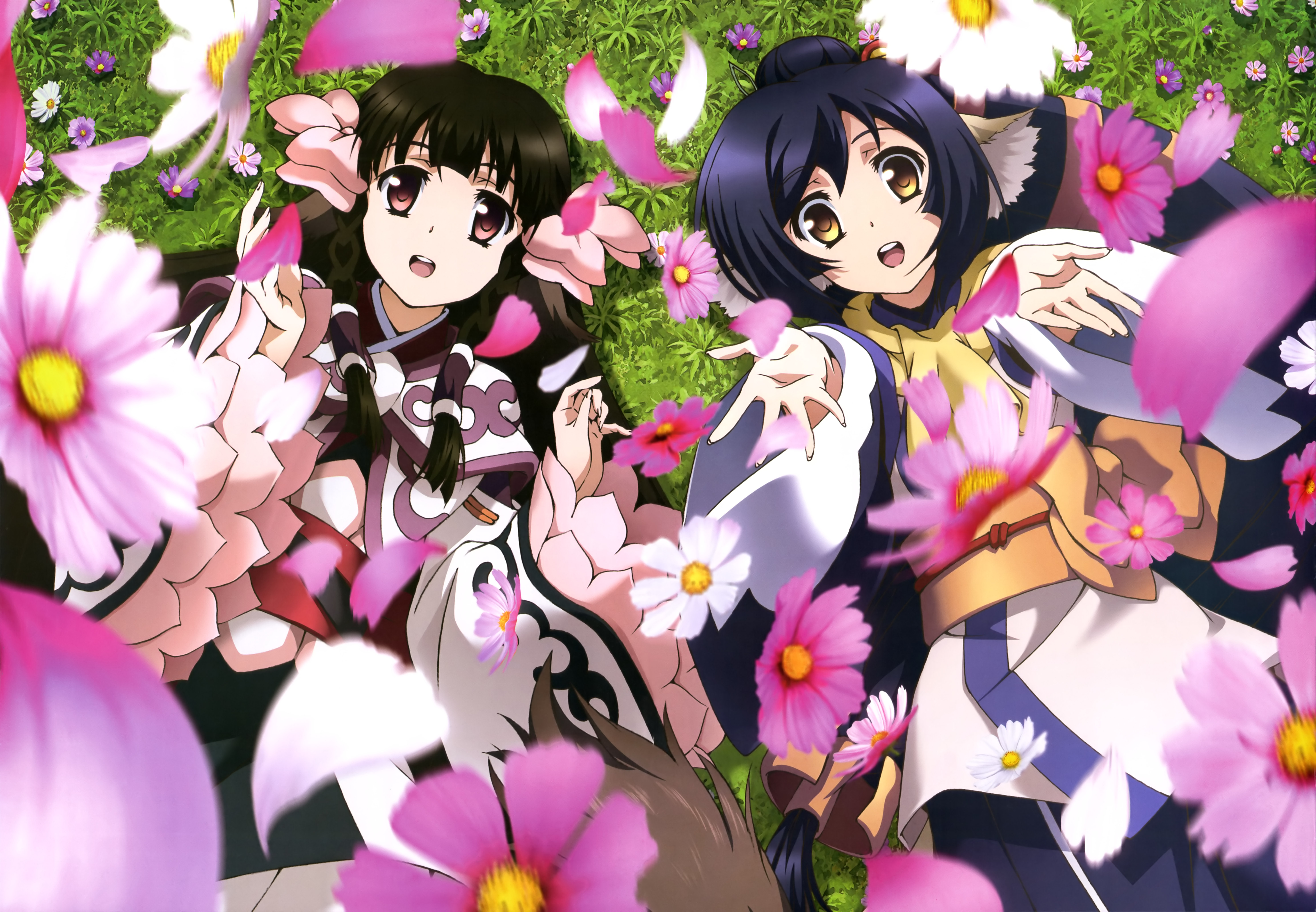 NyanType Magazine November 2015 anime posters utawarerumono itsuwari no kamen