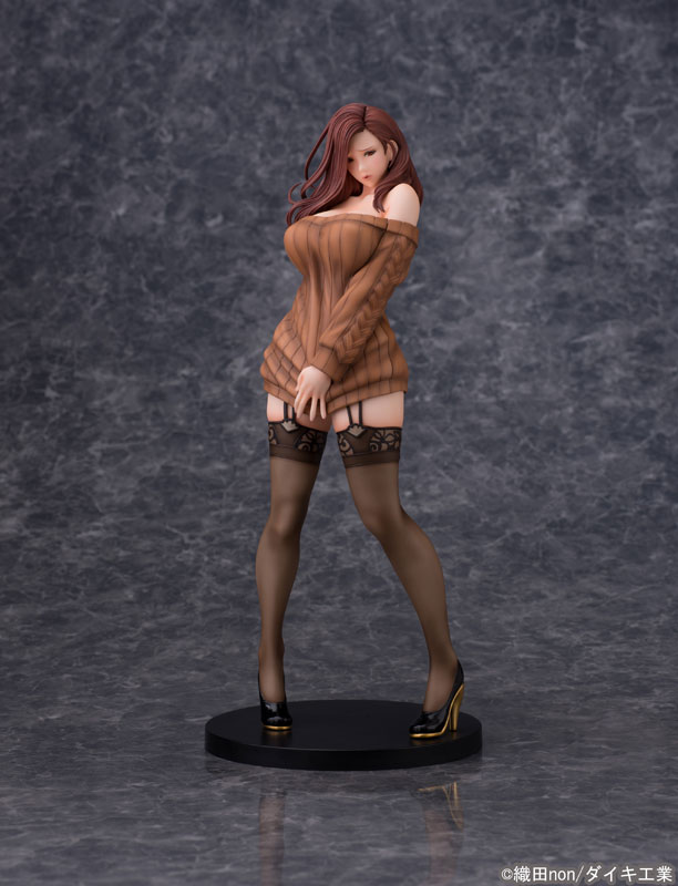 Odanon Illustration Shiho Kujo Anime Figure 000