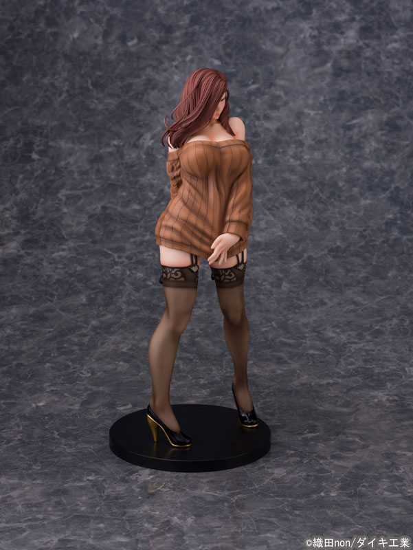 Odanon Illustration Shiho Kujo Anime Figure 001