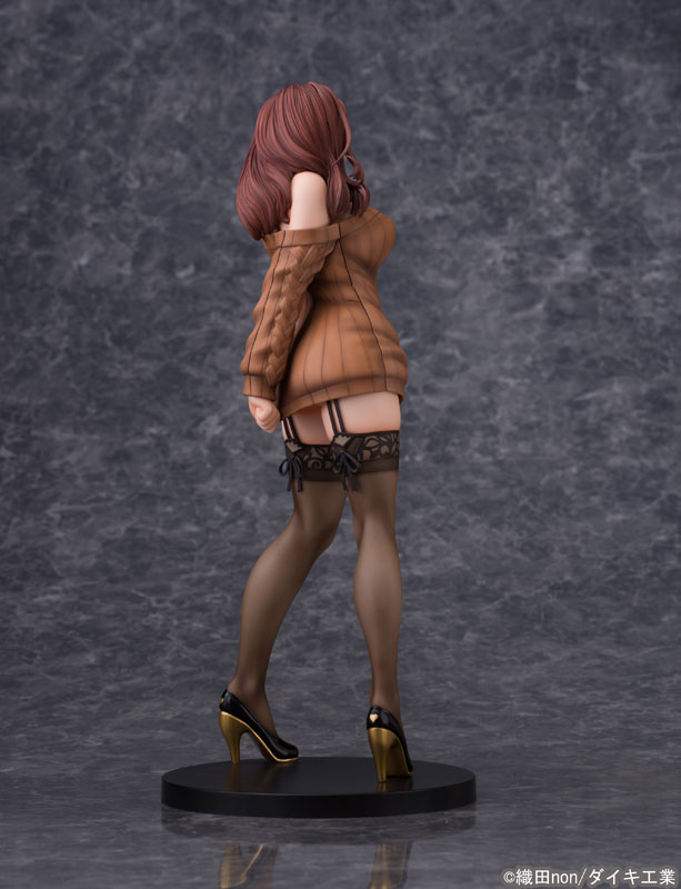 Odanon Illustration Shiho Kujo Anime Figure 002