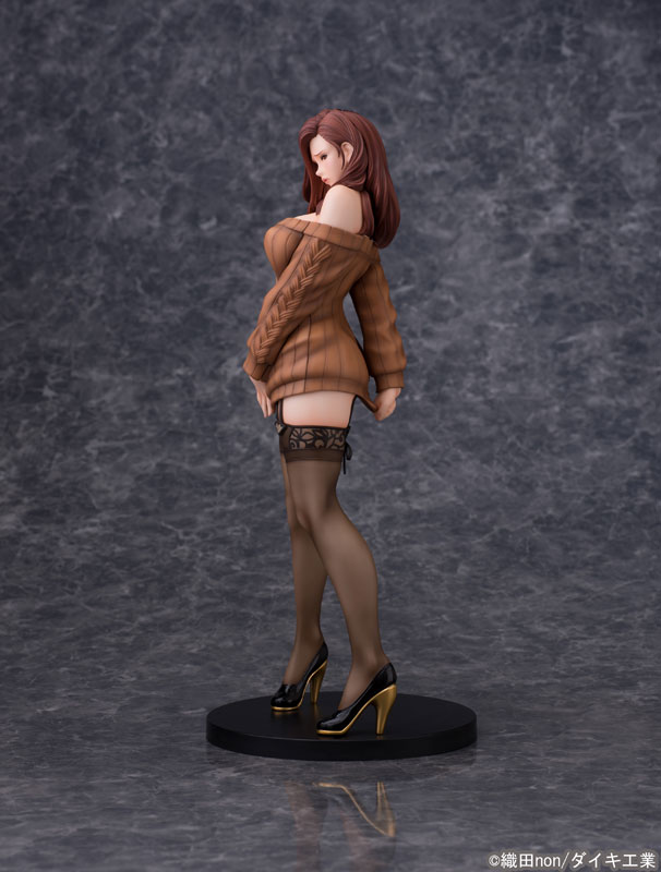 Odanon Illustration Shiho Kujo Anime Figure 003