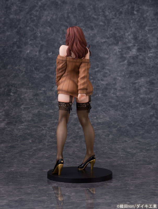 Odanon Illustration Shiho Kujo Anime Figure 004