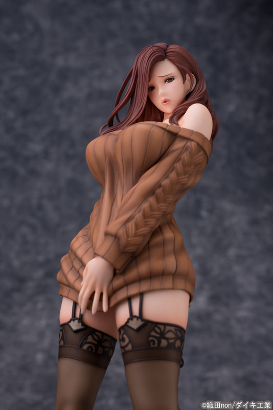 Odanon Illustration Shiho Kujo Anime Figure 005