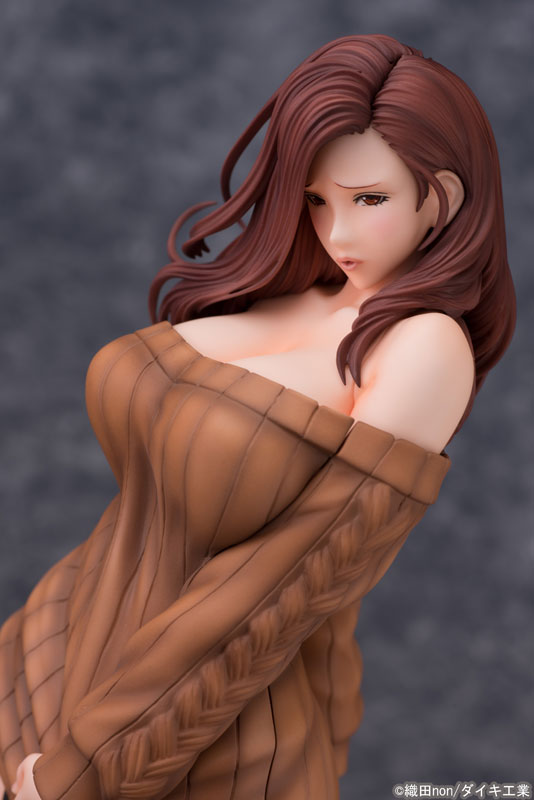 Odanon Illustration Shiho Kujo Anime Figure 006