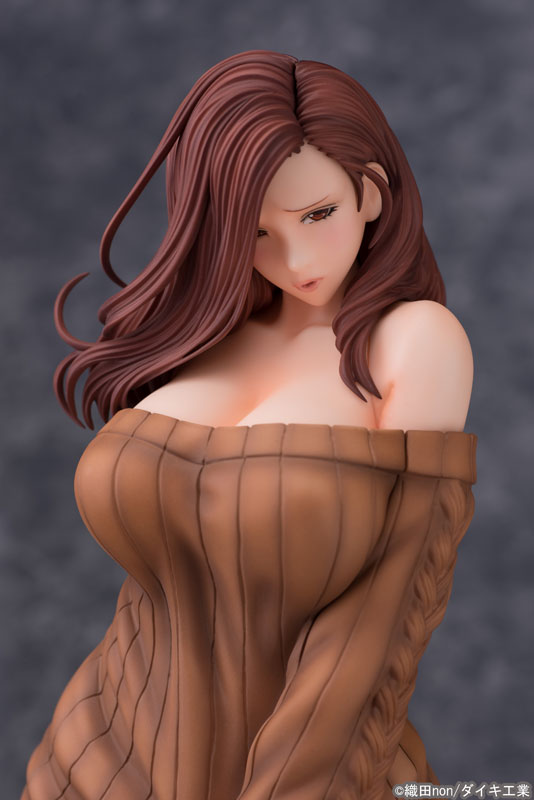Odanon Illustration Shiho Kujo Anime Figure 007