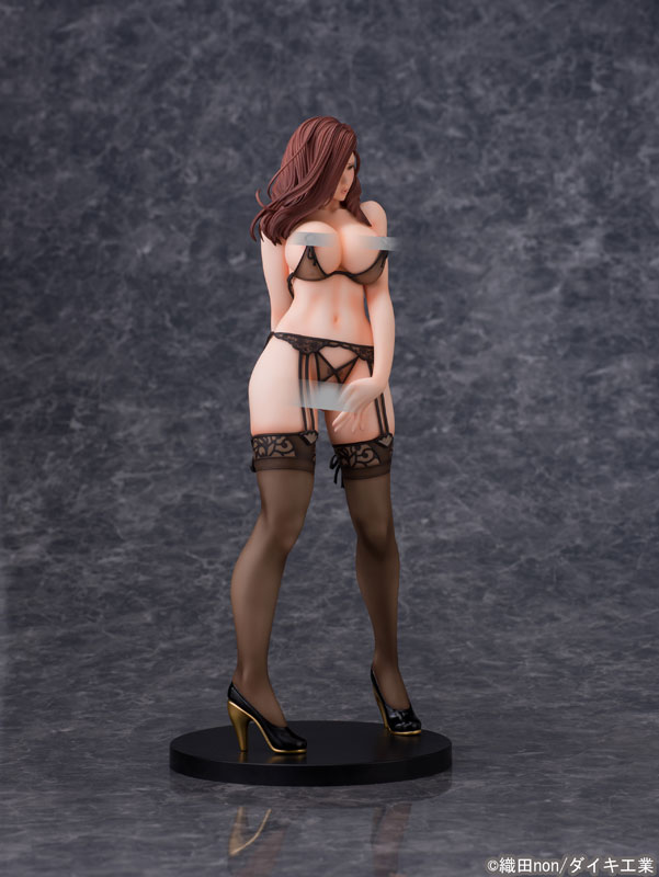 Odanon Illustration Shiho Kujo Anime Figure 009