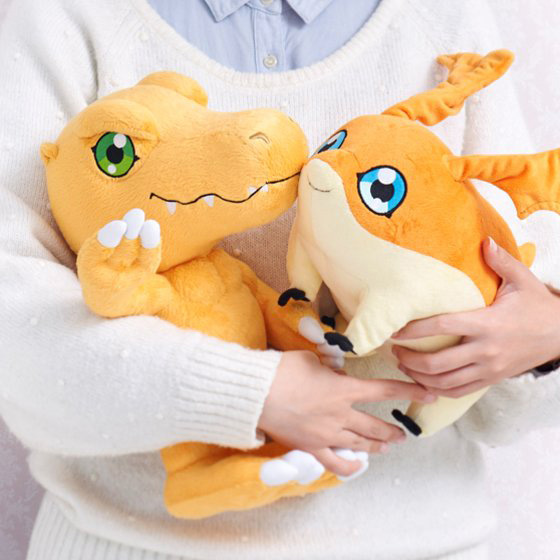 Official Agumon and Patamon Plushies Revealed Images-1