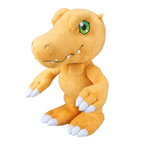 Official Agumon and Patamon Plushies Revealed Images-2