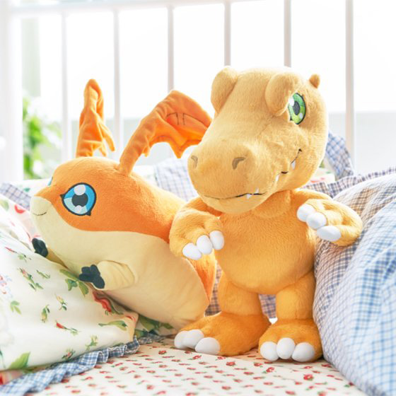 Official Agumon and Patamon Plushies Revealed Images-4