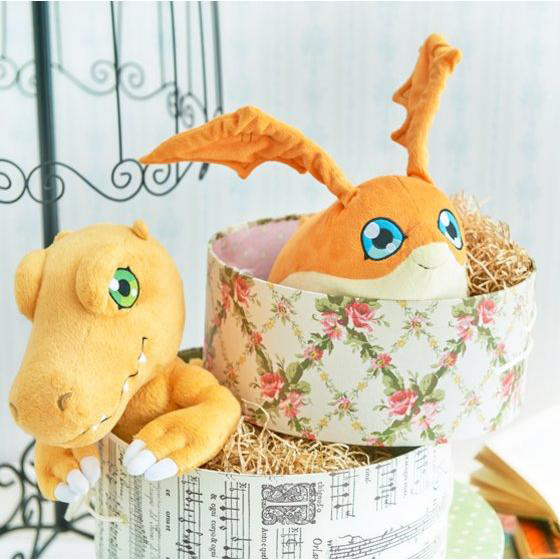 Official Agumon and Patamon Plushies Revealed Images-5