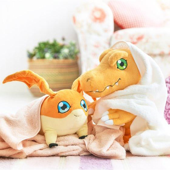 Official Agumon and Patamon Plushies Revealed-Images 6