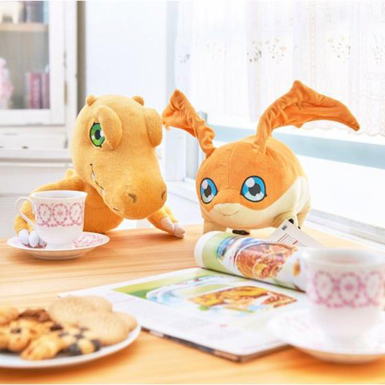 Official Agumon and Patamon Plushies Revealed Images 7