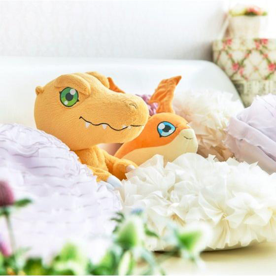 Official Agumon and Patamon Plushies Revealed Images 8