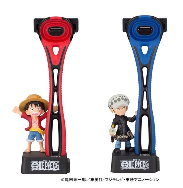 One Piece's Straw Hat Pirates Promote New Razor Blades 2