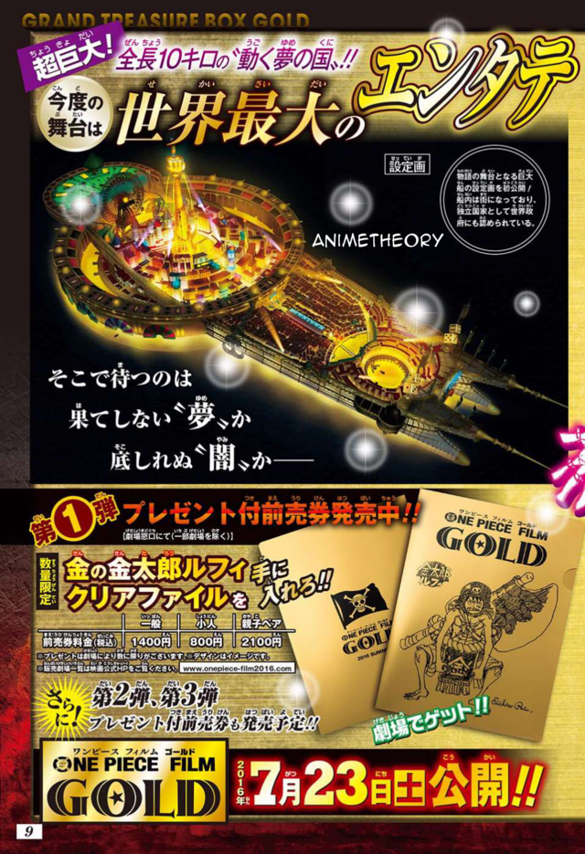 One Piece Film Gold Straw Hats Character Designs Spotted 4