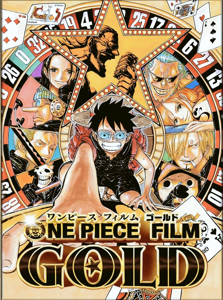One Piece Film Gold visual