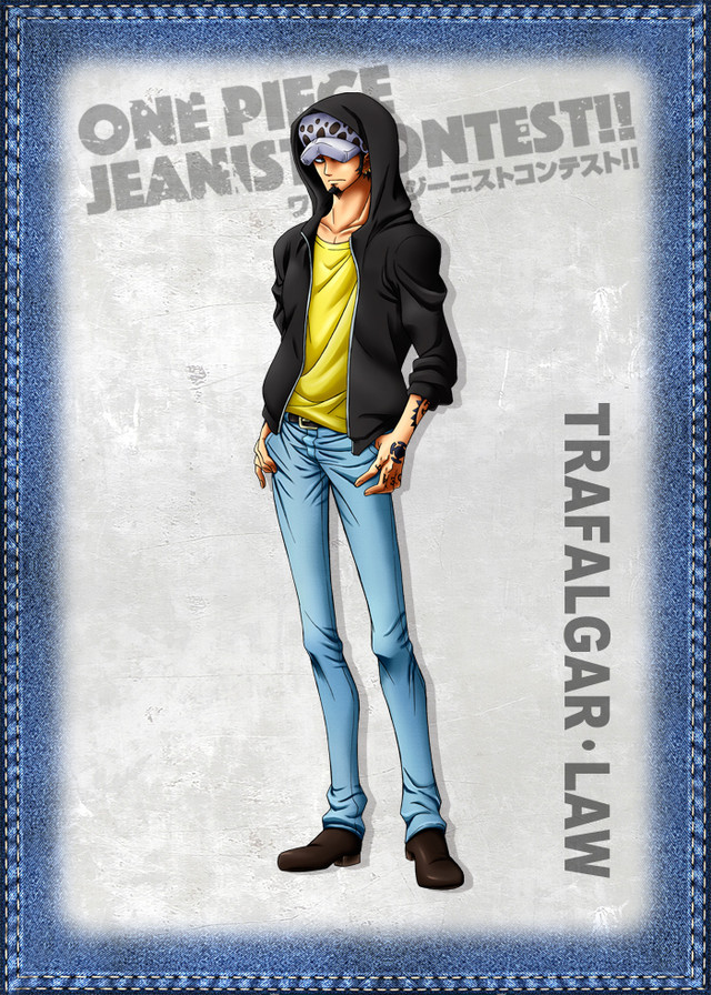 One Piece Jeanist Contest Goes Live Character Design law