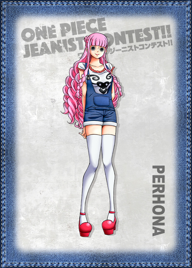 One Piece Jeanist Contest Goes Live Character Design perhona