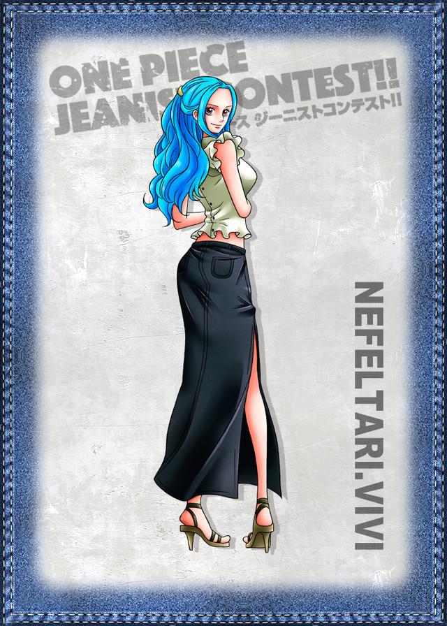 One Piece Jeanist Contest Goes Live Character Design vivi