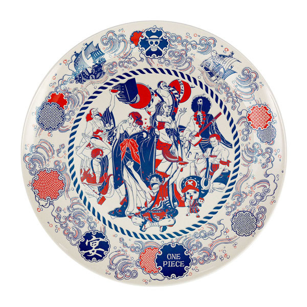 One Piece Lottery Party plate