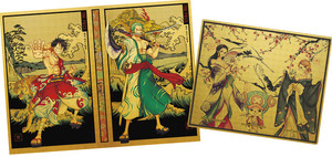 One Piece Lottery Prizes Book cover and bookmark set 3