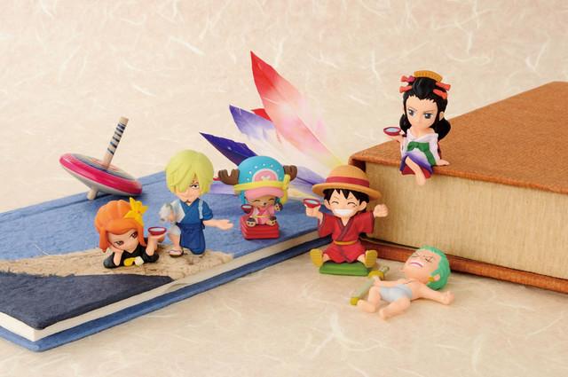 One Piece Lottery Prizes Desktop figures