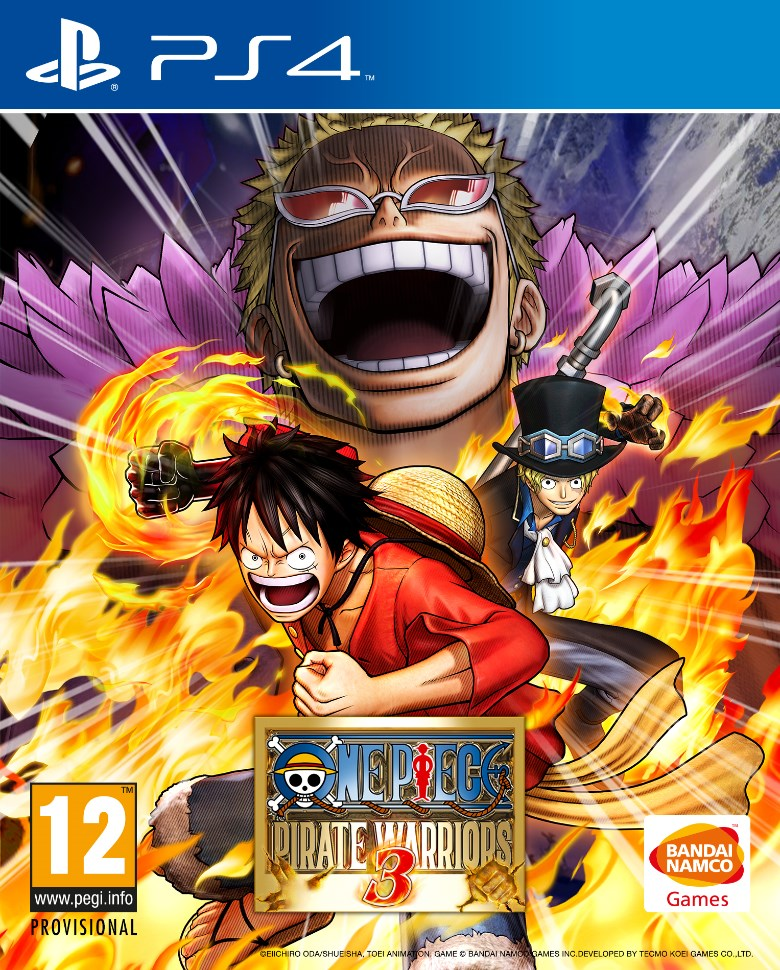 One Piece Pirate Warriors 3 PS 4 Cover Haruhichan.com One Piece on Steam