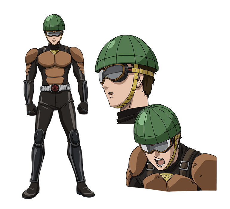 One-Punch-Man-Anime-Character-Designs-License-less-Rider