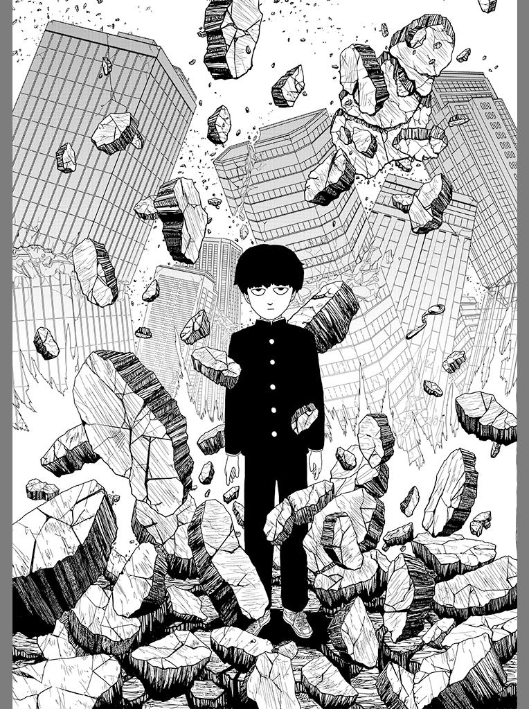 One-Punch Man Creator's Mob Psycho 100 Manga Gets TV Anime
