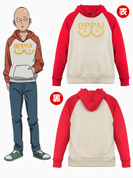 One Punch Man Oppai Hoodie Goes up for Sale