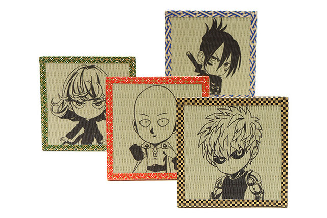 One Punch Man The Shoes of the Hero Saitama Previewed tatami coasters