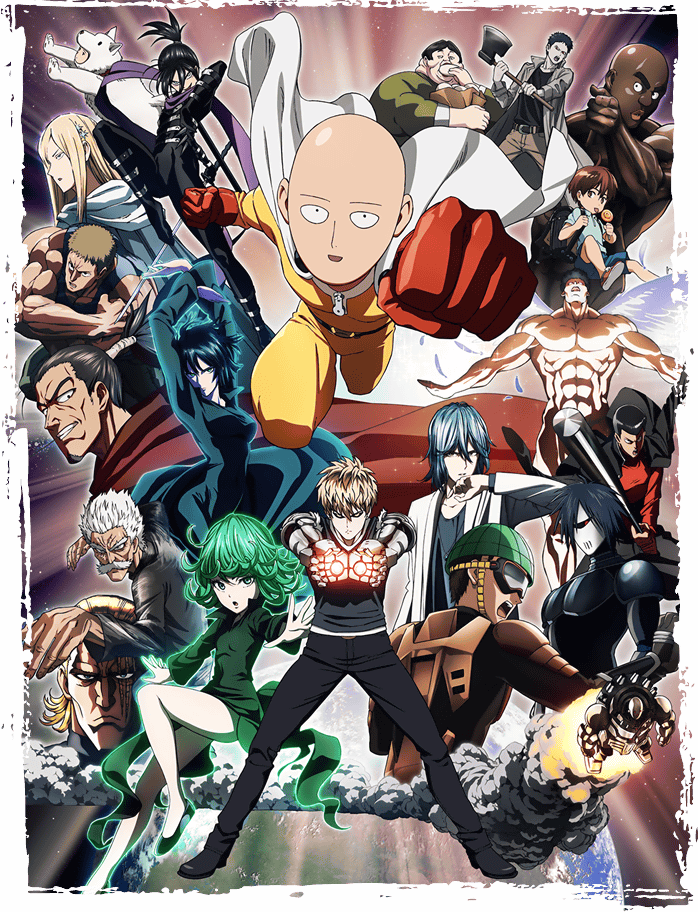 One Punch Man Visual Officially Revealed